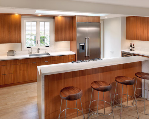 Mahogany Kitchen Home Design Ideas Pictures Remodel And