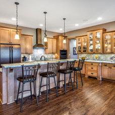 Transitional Kitchen by Rezac Construction