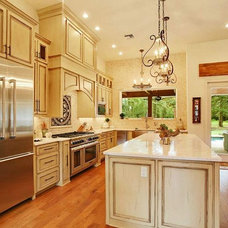 Traditional Kitchen by Crescent Land Development LLC