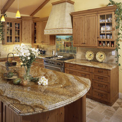 traditional kitchen by Pacifica Tile Art Studio
