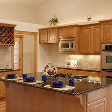 Transitional Kitchen by Creative Surfaces LLC
