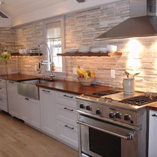 Contemporary Kitchen by DeVos Custom Woodworking