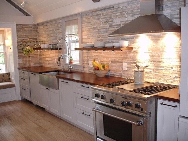Contemporary Kitchen by DeVos Custom Woodworking
