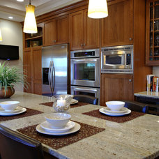 Transitional Kitchen by Keidel Supply