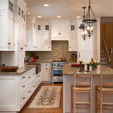 Farmhouse Kitchen by Westwood Cabinetry and Millwork