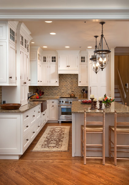 Traditional Kitchen by Westwood Cabinetry and Millwork