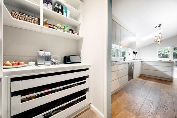 Midcentury Kitchen by Karen Aston Design