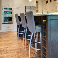 Transitional Kitchen by Ardington and Associates Design Inc.