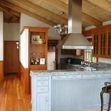 Craftsman Kitchen by A D Construction - Building & Design