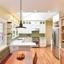 Kitchen of the Week:  A Craftsman Bungalow's Kitchen Opens Up