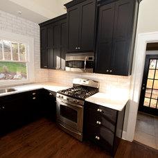 Craftsman Kitchen by Heirloom Design Build