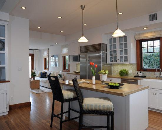 Kitchen Design White Cabinets Wood Floor white kitchen wood floors | houzz
