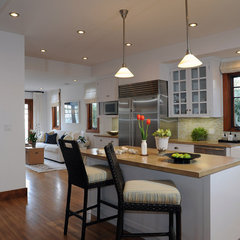 contemporary kitchen by Annette English
