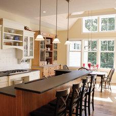 Craftsman Kitchen by Joe Ahmann, Ahmann Design, Inc.