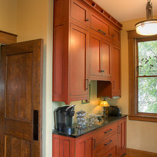 Traditional Kitchen by Hopps Woodworks LLC