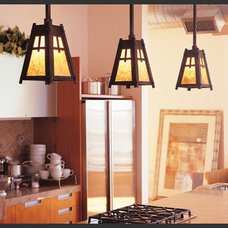 Traditional Kitchen by Hammerton Lighting