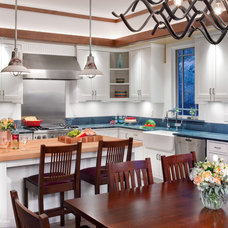 Craftsman Kitchen by CG&S Design-Build