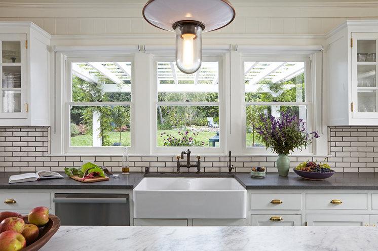 Transitional Kitchen by Lewin Wertheimer