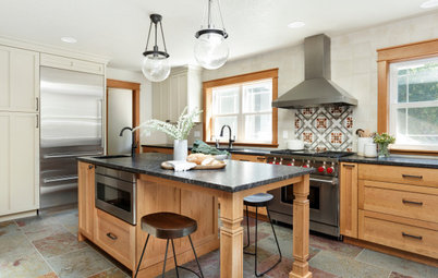 Before and After: 4 Kitchens With Two-Tone Cabinet Schemes