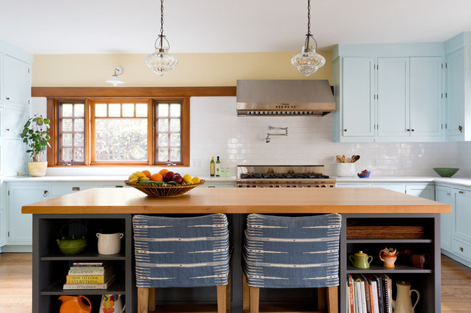 Craftsman Kitchen by D2 Interiors