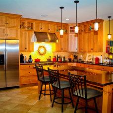 Craftsman Kitchen by bh design+build