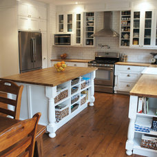 Traditional Kitchen Craftsman House Interior
