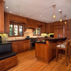 Craftsman Kitchen by Clay Baker Design