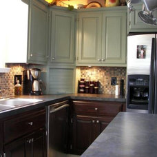 Craftsman Kitchen by Renovation Traditions Company