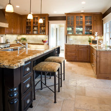 Craftsman Kitchen by Allwood Construction Inc