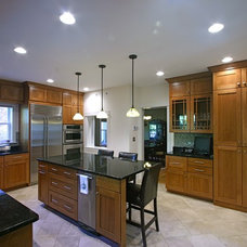 Craftsman Kitchen by Amish Custom Kitchens