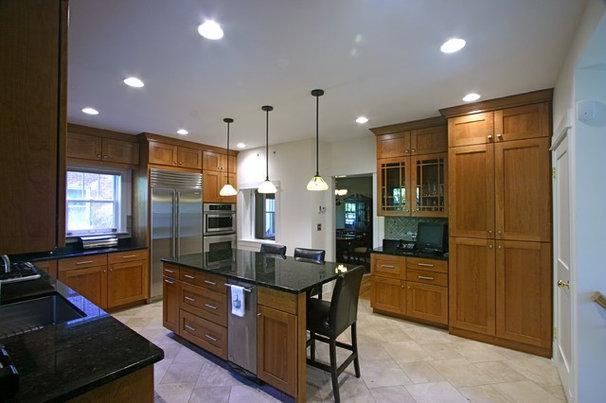 Craftsman Kitchen by Amish Custom Kitchens