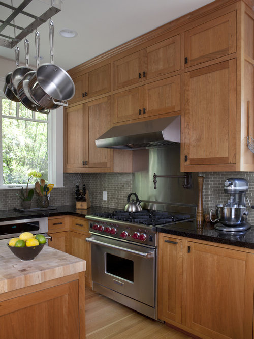 tropical kitchen cabinets butcher block countertops houzz 2949