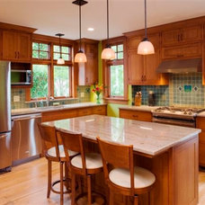 Traditional Kitchen by Black & Sons Furniture Makers