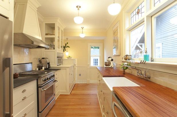 Craftsman Kitchen by Buckenmeyer Architecture
