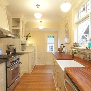 75 Beautiful Craftsman Galley Kitchen Pictures Ideas April 2021 Houzz