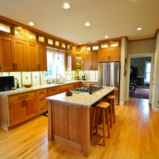 Craftsman Kitchen by Cherry Hill Cabinetry