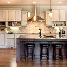 Craftsman Kitchen by Fazzolari Custom Homes & Renovations