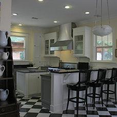 Eclectic Kitchen Craftsman Kitchen