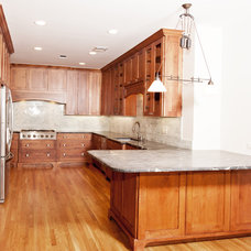 Traditional Kitchen by JOHN DANCEY Custom Designing/Remodeling/Building