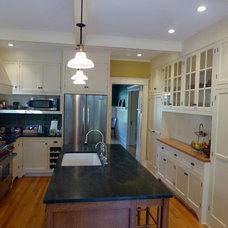 Craftsman Kitchen by kari richardson architect