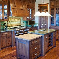 Craftsman Kitchen by Maraya Interior Design