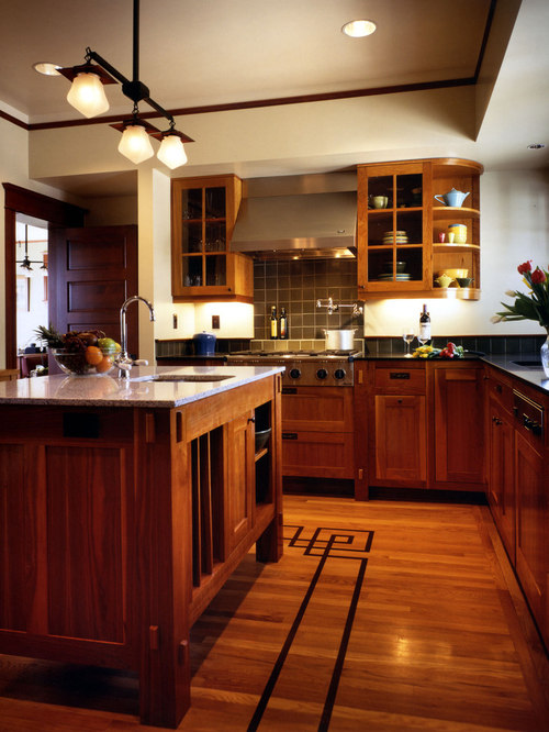 Craftsman Kitchen Houzz