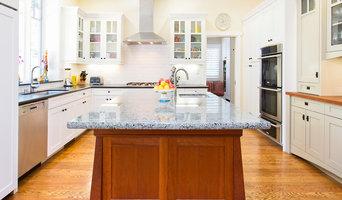 Craftsman Kitchen Remodel, Granite Island