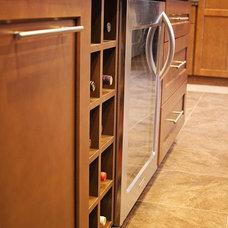 Transitional Kitchen by Sharer Design Group LLC