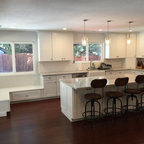 Arts & Crafts Kitchen - Quartersawn Oak Cabinets - Craftsman - Kitchen - Minneapolis - by Ron ...