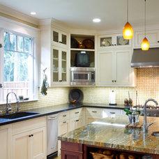 Craftsman Kitchen by Allwood Construction Inc