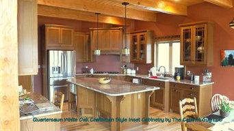 Craftsman Quartersawn Oak Cabinetry