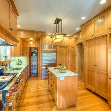 Craftsman Kitchen by Kirk E. Peterson & Associates