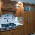 Kitchen Cabinet Refacing New Hampshire - Craftsman - Kitchen - Boston - by Benchmark Home ...
