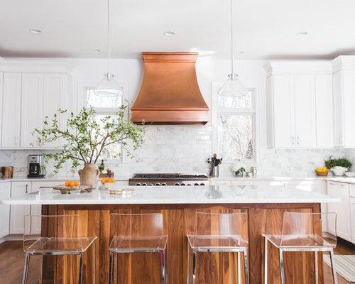 Fotos de cocinas dise os de cocinas de estilo americano - Cocina estilo americano ...